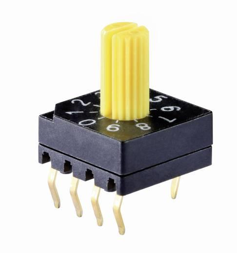 Knitter-Switch DRS 4016 Codeerschakelaar Hexadecimaal 0-9/A-F Schakelposities 16 1 stuks