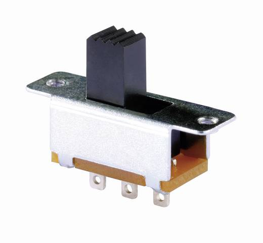 Knitter-Switch MFS 131D Schuifschakelaar 30 V/DC 0.35 A 1x aan/aan 1 stuks
