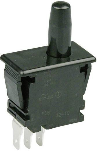 Cherry Switches F68-27A Druktoets 250 V/AC 0.1 A 1x aan/(aan) schakelend 1 stuks
