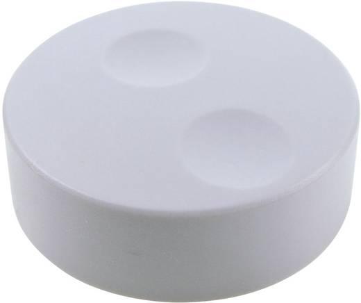 Cliff CL71660A Encoder-knop Grijs (Ø x h) 39.6 mm x 13.5 mm 1 stuks