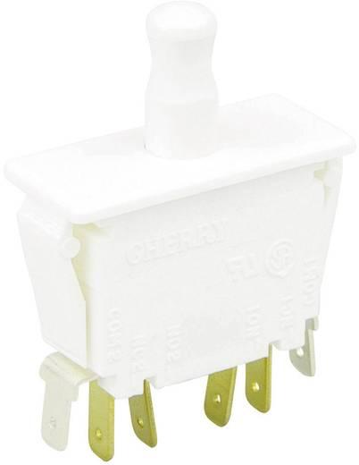 Cherry Switches F79-30A Druktoets 250 V/AC 10 A 2x aan/(aan) schakelend 1 stuks