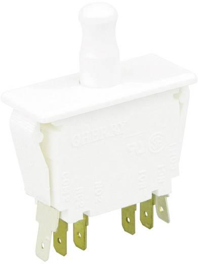 Cherry Switches E79-30A Druktoets 250 V/AC 10 A 2x aan/(aan) schakelend 1 stuks