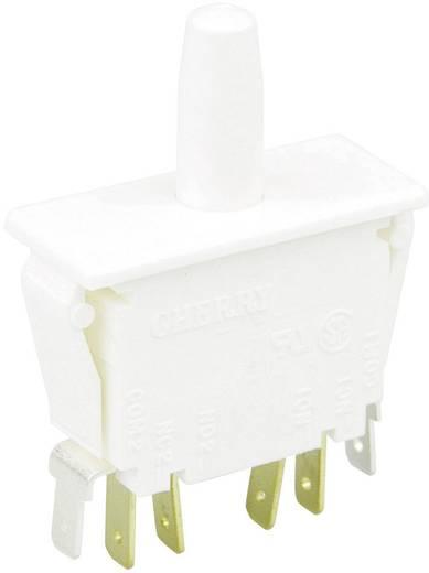 Cherry Switches F79-00A Druktoets 250 V/AC 10 A 2x aan/(aan) schakelend 1 stuks