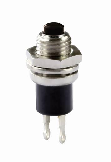 Knitter-Switch MSP 101C Druktoets 30 V/DC 0.65 A 1x uit/(aan) schakelend 1 stuks