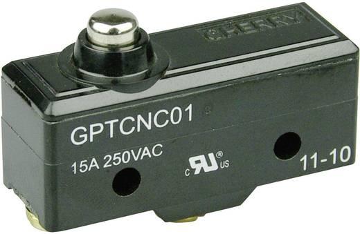 Cherry Switches GPTCNC01 Microschakelaar 250 V/AC 15 A 1x aan/(aan) schakelend 1 stuks