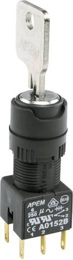 Contact element 2x NC vergrendelend 250 V/AC APEM A0152B 1 stuks