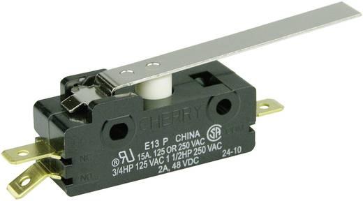 Cherry Switches E13-00H Microschakelaar 250 V/AC 15 A 1x aan/(aan) schakelend 1 stuks