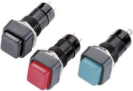R18-23A-2-H Drukschakelaar 250 V/AC 1 A 1x uit/aan vergrendelend 1 stuks