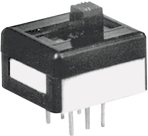 APEM 25136NAH Schuifschakelaar 250 V/AC 2 A 1x aan/aan 1 stuks