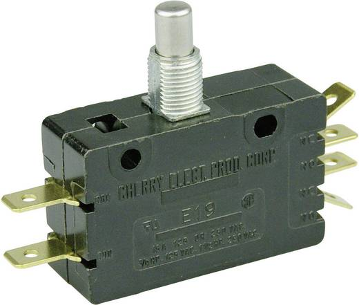 Cherry Switches E19-00M Microschakelaar 250 V/AC 15 A 2x aan/(aan) schakelend 1 stuks