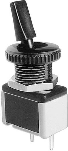 APEM 4631A-22 Tuimelschakelaar 250 V/AC 3 A 1x uit/aan vergrendelend 1 stuks