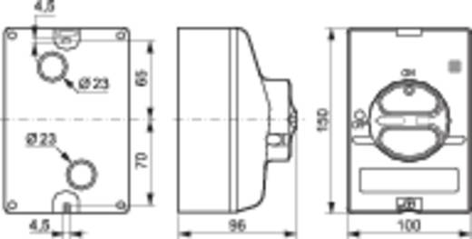 Lastscheidingsschakelaar Uitschakelbaar 50 A 1 x 90 ° Grijs, Grijs BACO BA0174261 1 stuks