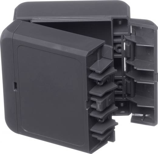Bopla Bocube B 080805 ABS-7024 Wandbehuizing, Installatiebehuizing 80 x 89 x 47 ABS Grafietgrijs (RAL 7024) 1 stuks