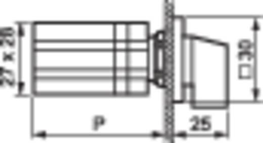 BACO BA223522 Keuzetoets 3 x 90 ° 1 stuks