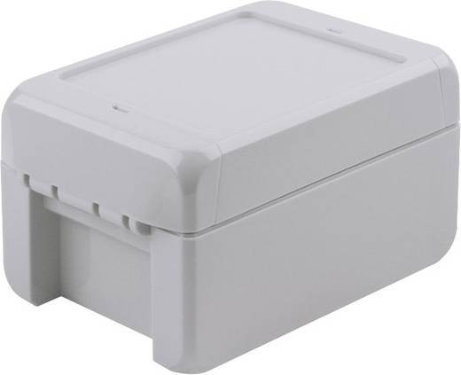 Bopla Bocube B 100809 PC-V0-7035 Wandbehuizing, Installatiebehuizing 80 x 113 x 60 Polycarbonaat Lichtgrijs (RAL 7035)