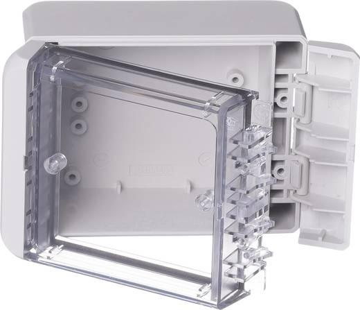 Bopla Bocube B 100806 PC-V0-G-7035 Wandbehuizing, Installatiebehuizing 80 x 113 x 60 Polycarbonaat Lichtgrijs (RAL 703