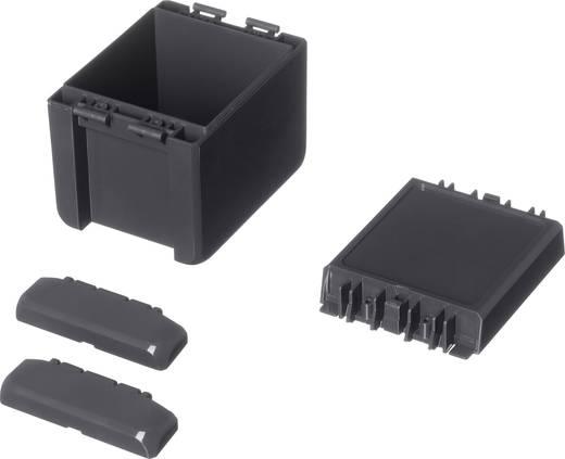 Bopla Bocube B 100809 PC-V0-7024 Wandbehuizing, Installatiebehuizing 80 x 113 x 90 Polycarbonaat Grafietgrijs (RAL 702