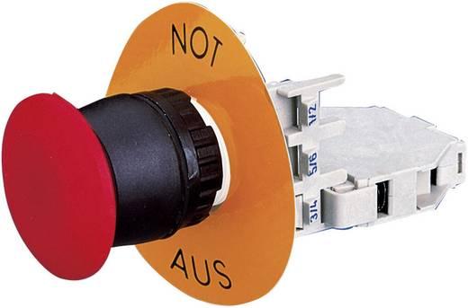 Noodstop schakelaar 400 V/AC 7.5 A 2x NC RAFI 9.201190010301 1 stuks