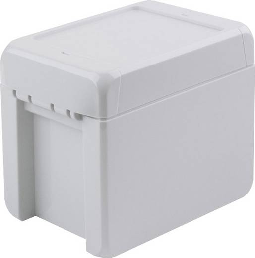 Bopla Bocube B 100809 PC-V0-7035 Wandbehuizing, Installatiebehuizing 80 x 113 x 90 Polycarbonaat Lichtgrijs (RAL 7035)