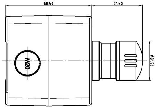 Noodstopschakelaar 250 V/AC 16 A 2x NC Schlegel SIL22_QRUV_118308 IP65 1 stuks