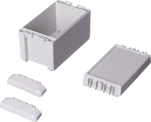 Bopla Bocube B 140809 PC-V0-7035 Wandbehuizing, Installatiebehuizing 80 x 151 x 90 Polycarbonaat Lichtgrijs (RAL 7035)