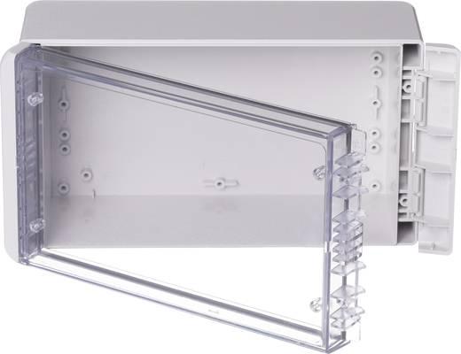 Bopla Bocube B 221309 PC-V0-G-7035 Wandbehuizing, Installatiebehuizing 125 x 231 x 90 Polycarbonaat Lichtgrijs (RAL 70