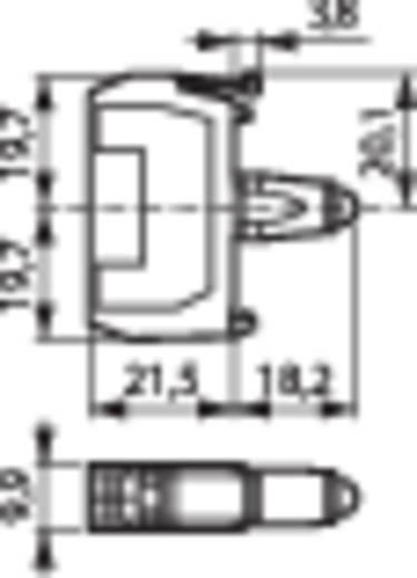 LED-element Wit 12 V/DC, 24 V/DC BACO BA33EAWL 1 stuks