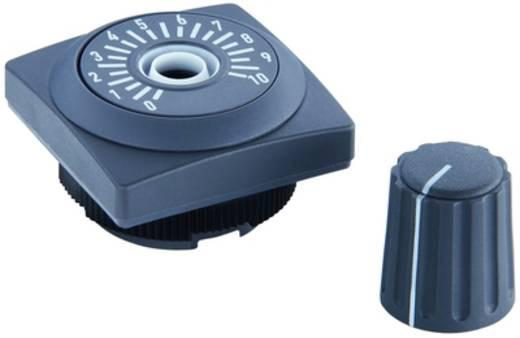 RAFI 1.30.258.021/0700 Potentiometer aandrijving Leigrijs 2 stuks