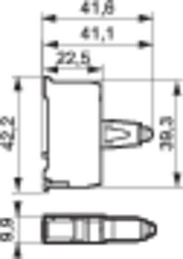 LED-element Geel 230 V/AC BACO BA33SAYH 1 stuks