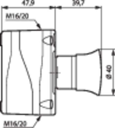 Noodstop schakelaar In behuizing 240 V/AC 2.5 A 1x NC BACO LBX15301 IP66 1 stuks