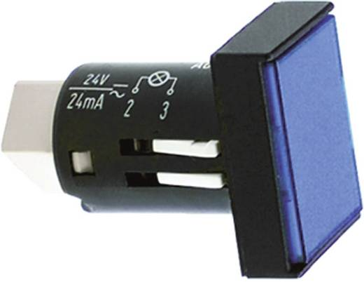Industrie verpakkingseenheid afschermkappen voor signaallampen Blauw (transparant) RAFI Inhoud: 25 stuks