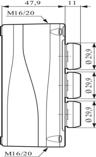 BACO LBX324080 Druktoets IP66 schakelend 1 stuks