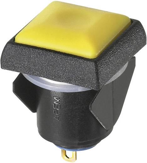 APEM IQC1S412 Drukschakelaar 24 V/DC 0.1 A 1x uit/aan vergrendelend 1 stuks
