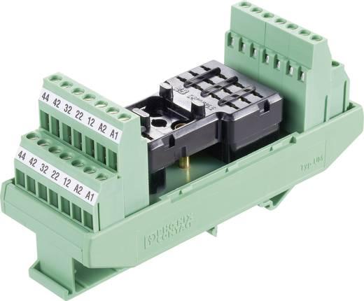 Relaisprintplaat Zonder relais 5 stuks Phoenix Contact UM-RH 1004/4X21/SO6 4x wisselaar