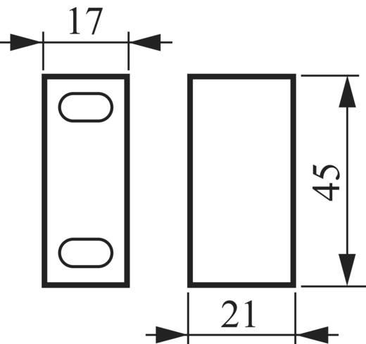 Omschakelaar 16 A 2 x 30 ° Grijs, Zwart BACO NC01GQ1 1 stuks