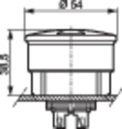 BACO L22DU01 Paddestoelschakelaar Kunststof frontring, Zwart Rood Trek-ontgrendeling 1 stuks