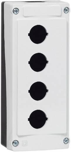 BACO BALBX0400 Lege behuizing 4 inbouwplaatsen (l x b x h) 173 x 74 x 47.9 mm Grijs-zwart 1 stuks