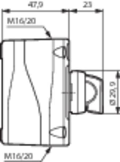 Draaischakelaar In behuizing 240 V/AC 2.5 A 1x NC, 1x NO BACO LBX12510 IP66 1 stuks