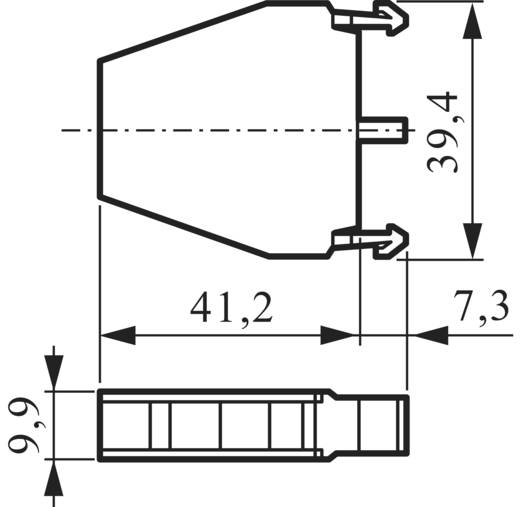 Contact element 1x NC, 1x NO schakelend 600 V BACO LM11 1 stuks