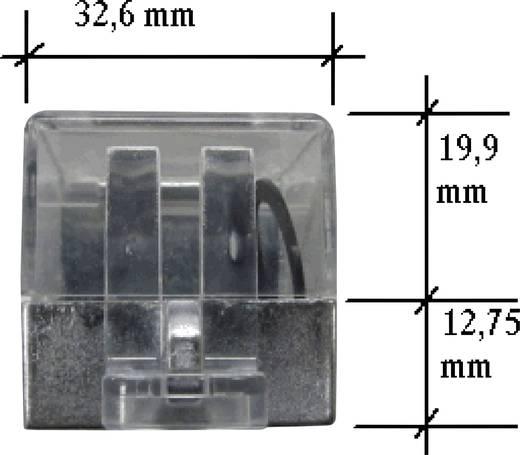 BACO BALWA0226 Beschermkap Uitschakelbaar Zwart, Transparant 1 stuks