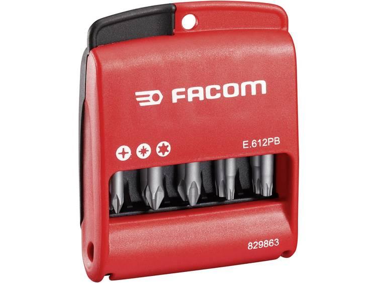 Facom Bitset 10-delig E.611PB Kruiskop Phillips, Kruiskop Pozidriv, Inbus