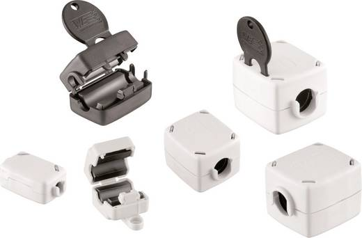 Klapferriet Met sleuteltechnologie 246 Ω Kabel-Ø (max.) 7.5 mm (l x b x h) 40.5 x 21 x 24.5 mm Würth Elektronik STAR TEC