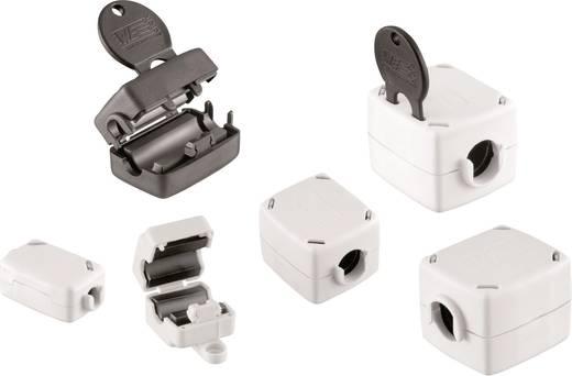 Klapferriet Met sleuteltechnologie 270 Ω Kabel-Ø (max.) 10.5 mm (l x b x h) 42.2 x 33.6 x 29.5 mm Würth Elektronik STAR TEC 74271221S 1 stuks