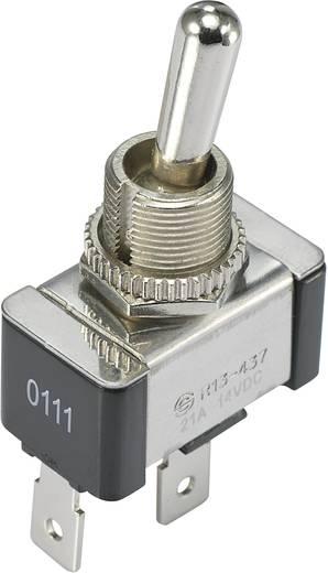 SCI R13-437A1-01B Tuimelschakelaar 14 V/DC 21 A 1x uit/aan vergrendelend 1 stuks