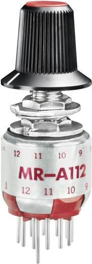 NKK Switches MRA112-A Draaischakelaar 125 V/AC 0.25 A Schakelposities 12 1 x 30 ° 1 stuks