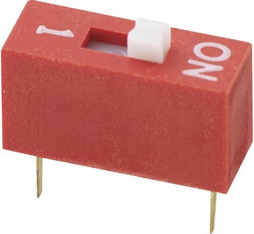 Conrad Components DS-01 DIP-schakelaar Aantal polen 1 Standaard 1 stuks