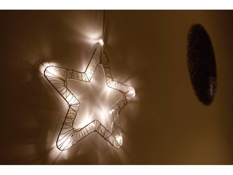 Raamdecoratie Ster LED Polarlite 709661