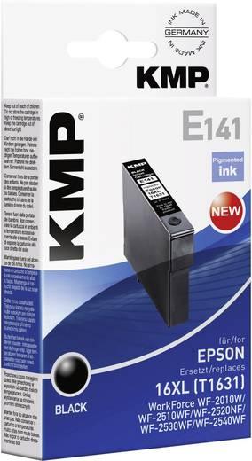 KMP Inkt vervangt Epson T1631, 16XL Compatibel Zwart E141 1621,4001
