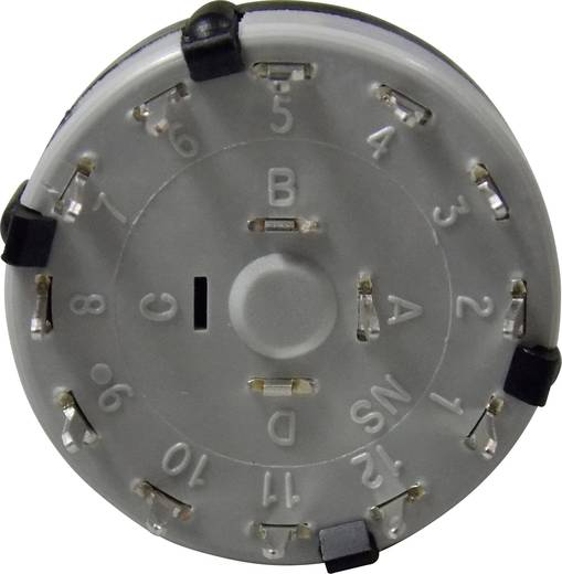 Lorlin CK-1049 Onderspanningsafschakelspoel 250 V/AC 0.15 A Schakelposities 12 12 x 30 ° 1 stuks
