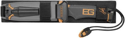 Gerber Ultimate Knife 31-000751 Riemmes vuurstarter, slijpsteen, signaalfluitje, messchede Zwart, Oranje